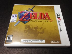 Legend of zelda ocarina of time 3d 3ds - Ocarina of time 3ds console ...