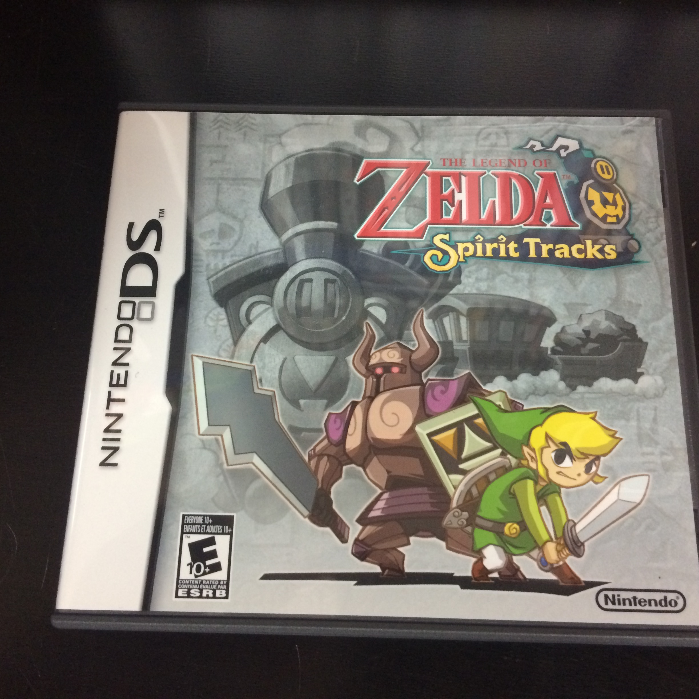 Legend Of Zelda Spirit Tracks Nintendo Ds Complete